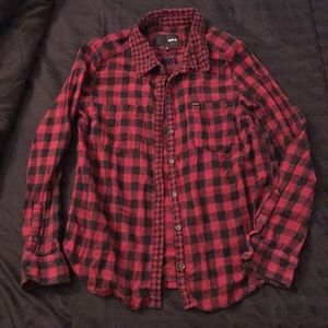 Hurley Flannel Shirt